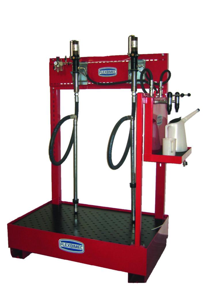 Duel 208l Drum Dispensing Bar Flx 8545 Lubrication
